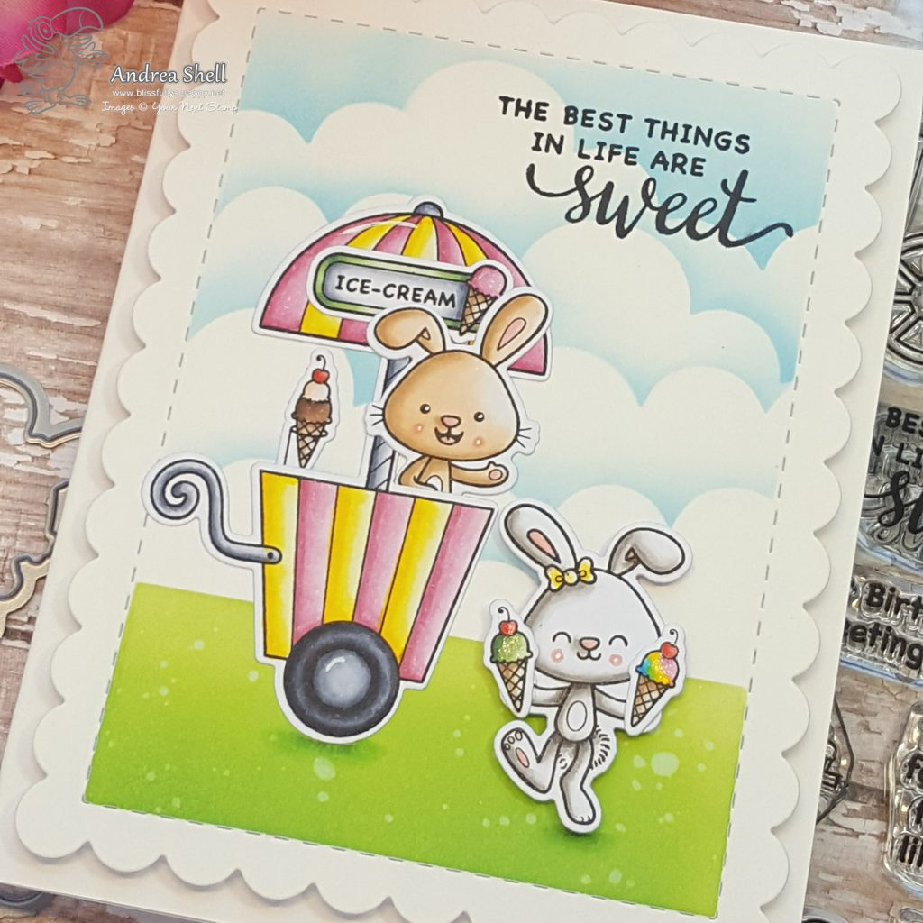 Your Next Stamp August Release Preview: Sweet Treat Cart