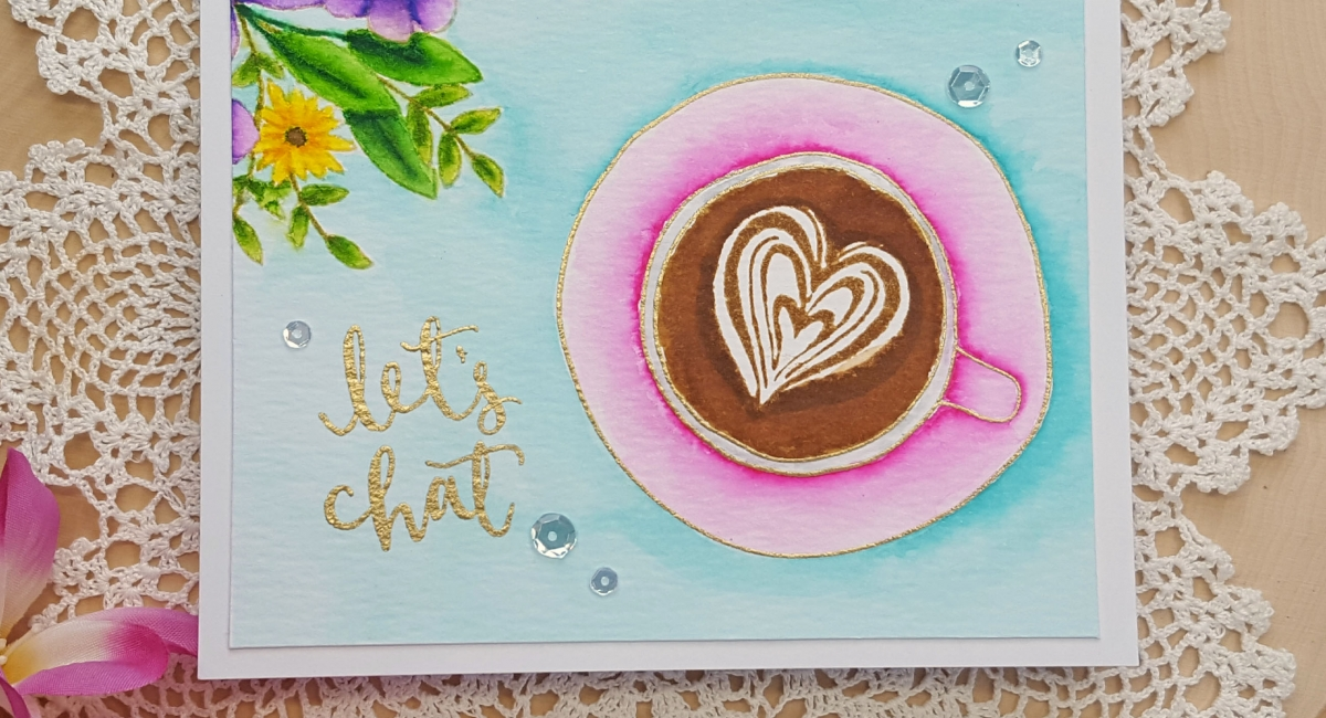 In Honor Of The Last Day 2017 Summer Coffee Lovers Blog Hop I Have A Card Featuring Two Stamp Sets By Concord 9th For All Details